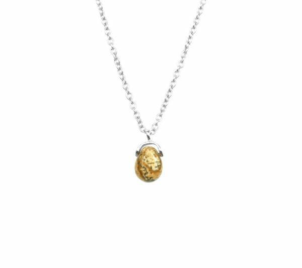 Mas Jewelz necklace Bail Picture Jasper Silver
