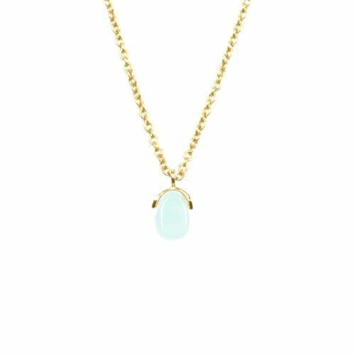Mas Jewelz necklace Bail Amazonite Gold